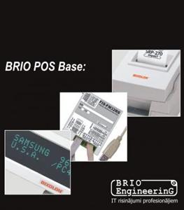 Kasos aparatas Kompiuterinė kasos sistema BRIO ACTIVe POS