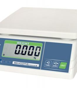 Plataus vartojimo tik svorį nustatančios svarstyklės BEW svarstyklės