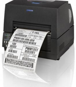 Etikečių spausdintuvai, pramonei, prekybai CITIZEN CL-S6621
