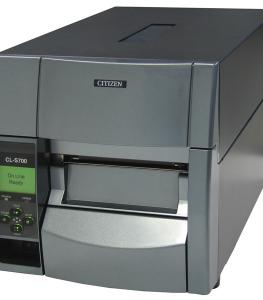 Etikečių spausdintuvai, pramonei, prekybai CITIZEN CL-S700
