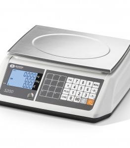 Svarstyklės- kainą- skaičiuojančios S200B svarstyklės